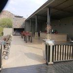 pool and verandah