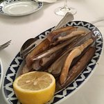 Marisco fresco y de gran calidad y sabor. Bogavante, nécoras, langostinos y gambón, vieiras grat