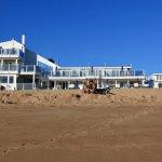 Hotel vanuit de zee