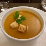 Cream of vegetable soupe