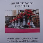 22 Oct 2017: Ieper, blessing of the 8 bells at St.Georges Memorial Church