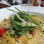Tortelacci mit Lachs