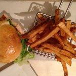 Chicken Sandwich and Fresh Cut Fries