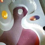 Quirky seating and lighting