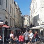 centre ville rue piétonne