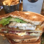 Amazing club sandwich