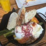 Great breakfast! Loved my sweet potato eggs Benedict