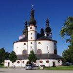 Außenansicht der Wallfahrtskirche