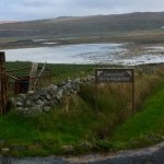The B & B is located at the north end of Callanish beside Loch Gealava