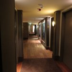 Sogar der Korridor ist sehenswert.