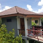 Standard bungalow mountain view with A/C, private balcony, hot and cold shower