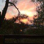 Sunset taken from balcony of Room 319