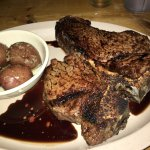 2+ pound Porterhouse with red skinned potatoes!