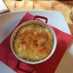 polenta con fonduta
