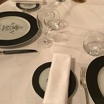 tres jolie table, très bon diner, excellent service