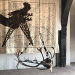 Kentridge tapestries upstairs!