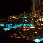 Fountainebleau pools from 11th floor balcony