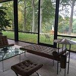Living Area. Original Mies van der Rohe funiture.