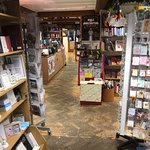 Inside the bookshop