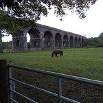Laverton Viaduct of 15 arches