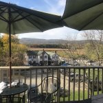 Wonderful, food, view, and atmosphere at The Parish Bar & Restaurant, New Paltz, NY ❤️
