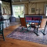 Breidablick Cottage Living Room