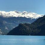 """Photo shot from ferry boat Interlaken Ost """"Brienzersee"""""""