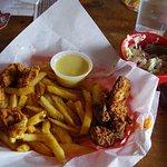 Chicken & fries