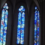 Windows by Chagall in St Stepans Church.