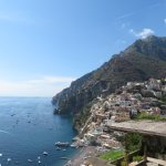 View from the Adam & Eve Restaurant - Positano, Amalfi Coast