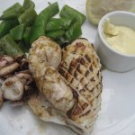 Grilled squid and aioli