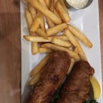 Fish & Chips (don't let the exterior fool you)