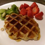 We loved the waffles at both the Conrad and the Hiltons in Prague and Vienna! :)