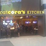 entrance to Cat Cora's Kitchen