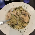 Veal Siciliano, Adriatic Cafe Italian Grill, Tomball, TX