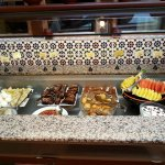Desserts on the lunch buffet