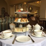 Afternoon tea at Sopwell House