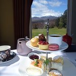 High Tea at Chateau Tongariro