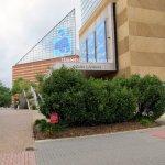 front of Tennessee Aquarium