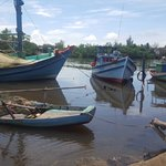 Cua Can Fishing village about 5kms away