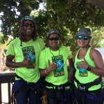 Justin, Ray & Emily are the best at Maui Zipline.