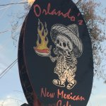 Orlando's Highway Sign - Taos, New Mexico