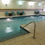 Indoor pool - chemical smell will burn your nose and eyes after prolonged exposure