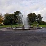 Fountain on the Kilkenny Castle grounds.