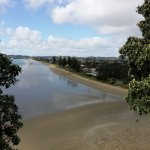 Orewa Beach from outlook Northern end