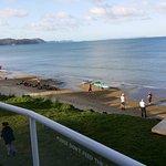 Orewa Beach from Surf Club looking North