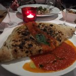 Calzone - more filling next time please!