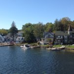Lakefront properties at Wolfeboro