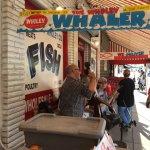 Had a lobster slider at Robert Wholey's.