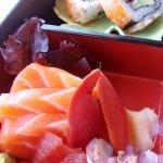 fresh sashimi